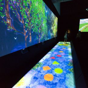 "17 Exhibition View of ""teamLab Living Digital Forest and Future Park"""