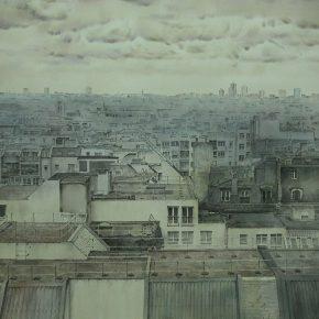 20 Tan Qirui, Twilight, 83 x 112 cm, Hubei Institute of Fine Arts