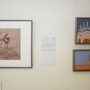 23 Exhibition view of the Silk Road Paintings