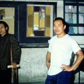 25 Ma Desheng and Wang Keping were present at the joint exhibition of Ma & Huang & Wang in 1983
