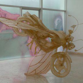 29 Ying Xinxun, Metamorphosis, leather, 190 x 160 x 160 cm, 2011