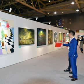 "36 Exhibition view of ""Spirit of Academy • Pin Zhi"" 290x290 - Graduates from the Eight Academies of the Fine Arts Gathered in Yiwu to Present the Quality of the Academy"