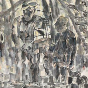 41 Lu Chen, draft of the Songbird Figure