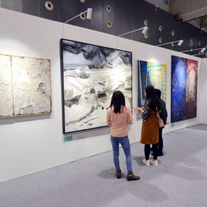 "43 Exhibition view of ""Spirit of Academy • Pin Zhi"" 290x290 - Graduates from the Eight Academies of the Fine Arts Gathered in Yiwu to Present the Quality of the Academy"