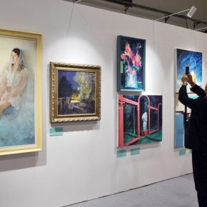 "44 Exhibition view of ""Spirit of Academy • Pin Zhi"" 290x290 - Graduates from the Eight Academies of the Fine Arts Gathered in Yiwu to Present the Quality of the Academy"