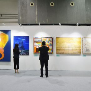 "45 Exhibition view of ""Spirit of Academy • Pin Zhi"" 290x290 - Graduates from the Eight Academies of the Fine Arts Gathered in Yiwu to Present the Quality of the Academy"