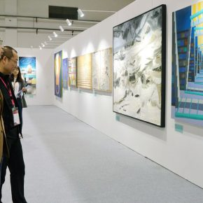 "46 Exhibition view of ""Spirit of Academy • Pin Zhi"" 290x290 - Graduates from the Eight Academies of the Fine Arts Gathered in Yiwu to Present the Quality of the Academy"