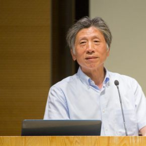 01 Fan Di'an, President of CAFA delivered a speech for the lecture