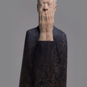 "03 Wang Mingze Oh 50 x 33 x 107 cm camphor wood 290x290 - Wang Mingze's ""Station"": The Truest Feeling of the Moment of Life"
