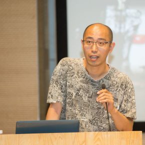 03 Wu Jian'an, a teacher from the School of Experimental Art, CAFA, and a participating artist of the China Pavilion hosted the lecture
