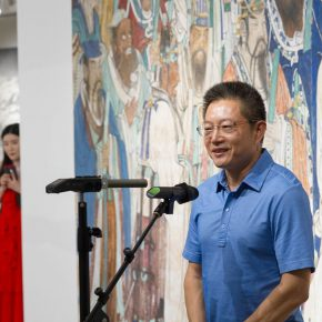 03 Zhang Rongming Chairman and President of Aimer Group delivered a speech 290x290 - The Way of Further Education: CAFA 2017 Graduation Exhibition of Outstanding Works by Trainees Opened