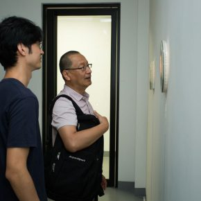 04 Artist Ji Bei and Ma Lu Dean of the School of Plastic Arts CAFA 290x290 - The First Exhibition of CAI Young Artist Laboratory: Self – Awareness and Artistic Expression