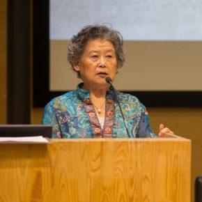04 Zong Qixiang's wife Wu Pingmei delivered a speech