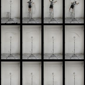 05 Liu Yazhou Floor wall Position screenshot of the video 290x290 - Liu Yazhou: Sculpture is Not Just Born at the End of an Artist's Production