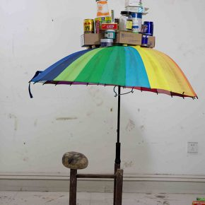 06 Liu Yazhou Work No.3 ready made products 1.5 x 1.5 x 1.2 m 2014 290x290 - Liu Yazhou: Sculpture is Not Just Born at the End of an Artist's Production