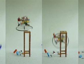 07 Liu Yazhou Samsara series Work No.1 screenshot of the video 290x222 - Liu Yazhou: Sculpture is Not Just Born at the End of an Artist's Production