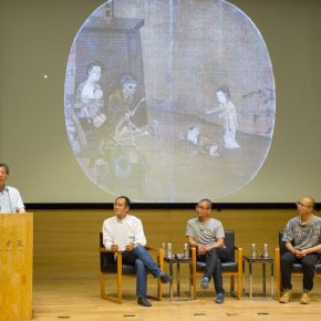 07 View of the lecture 2 290x290 - Qiu Zhijie: Millenary Promise between Venice and Chinese Intangible Cultural Heritage