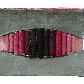 09 Liu Lei, The Hidden Shape, pulp, 75 x 75 cm