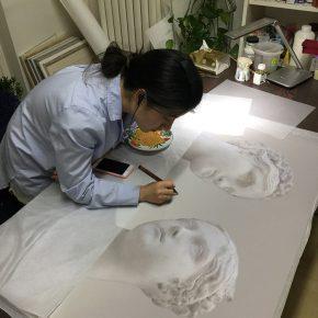 10 Zhou Han's creation process