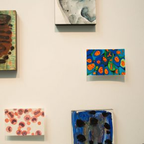 """11 Exhibition view of the """"Lonely Planet"""", Wang Jing's work"""