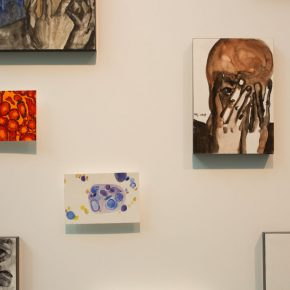 """12 Exhibition view of the """"Lonely Planet"""", Wang Jing's work"""