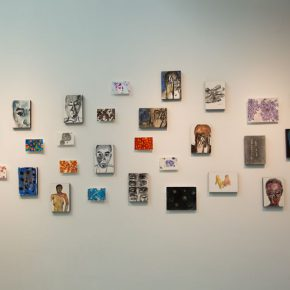 """13 Exhibition view of the """"Lonely Planet"""", Wang Jing's work"""