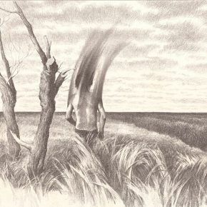 15 Hao Long, A drawing of the Lightness of Being No.4, 42 x 59.4 cm, pencil on paper, 2016