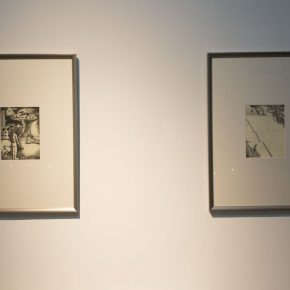 """17 Exhibition view of the """"Lonely Planet"""", Ji Bei's work"""
