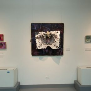 """26 Exhibition view of the """"Lonely Planet"""", Ding Ning's work"""