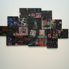 """29 Exhibition view of the """"Lonely Planet"""", Ding Ning's work"""