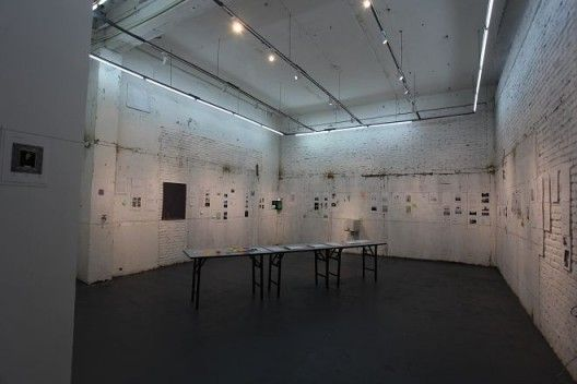 Installation View of Yell Space Programme Exhibition – Partial Archive 01