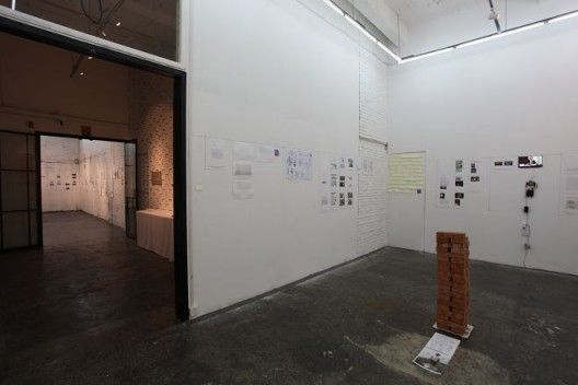Installation View of Yell Space Programme Exhibition – Partial Archive 04