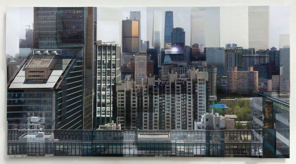Ji Zhou, Building 1, Archival pigment print, 120x230cm, 2017