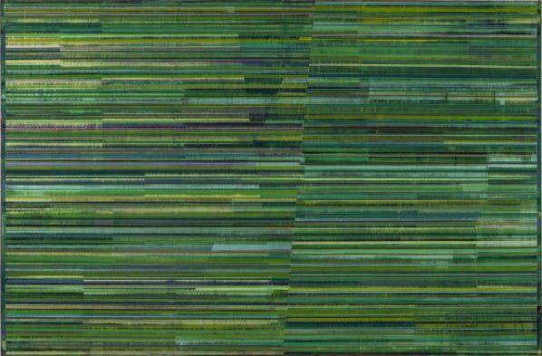 Qu Fengguo, Spring, Four Seasons, 2016; Oil on canvas, 145x220cm
