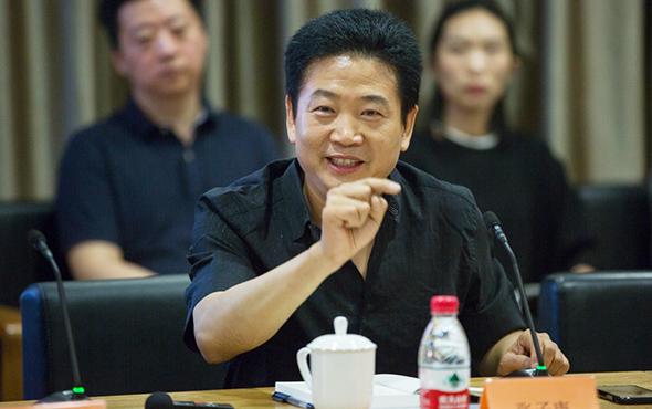 Zhang Zikang at the Ceremony