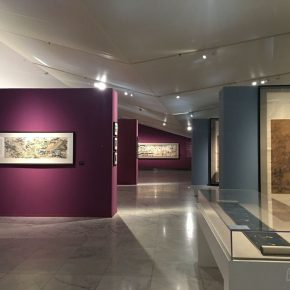 """03 Installation view of the exhibition 290x290 - """"The Dimension of Tradition – Copying and the Collection for the National Traditional Painting by CAFA in the 1950s and 1960s"""""""