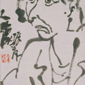 03 Zhu Zhengeng Portrait ink on paper 78 × 30 cm 2002 290x290 - Zhu Zhengeng