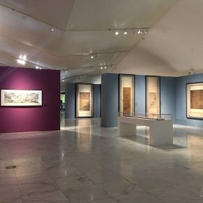 """04 Installation view of the exhibition 290x290 - """"The Dimension of Tradition – Copying and the Collection for the National Traditional Painting by CAFA in the 1950s and 1960s"""""""