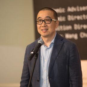 05 Prof. Tang Hui, Director of the Department of the Mural Painting, CAFA delivered a speech