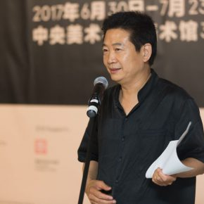 07 Zhang Zikang, Director of CAFA Art Museum hosted the opening ceremony