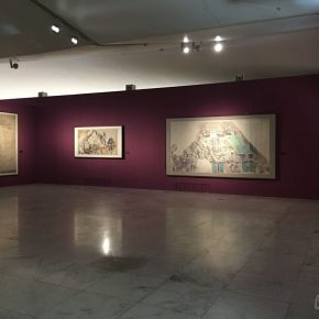"""11 Installation view of the exhibition 290x290 - """"The Dimension of Tradition – Copying and the Collection for the National Traditional Painting by CAFA in the 1950s and 1960s"""""""