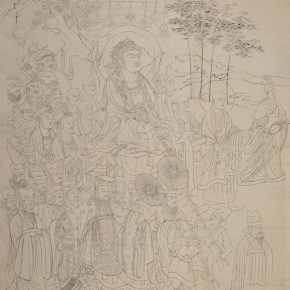 """12 Photo of the exhibited work 290x290 - """"The Dimension of Tradition – Copying and the Collection for the National Traditional Painting by CAFA in the 1950s and 1960s"""""""