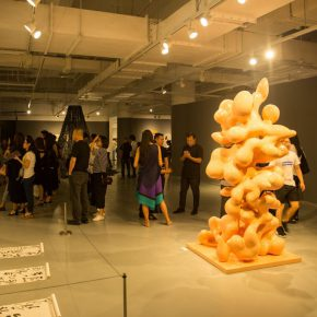 """17 Exhibition view of the """"Loom – the Contemporary Art Exhibition"""""""