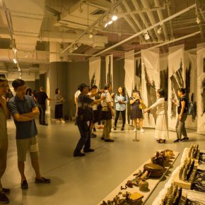"""18 Exhibition view of the """"Loom – the Contemporary Art Exhibition"""""""