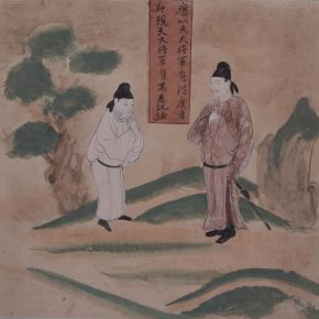 """19 Photo of the exhibited work 290x290 - """"The Dimension of Tradition – Copying and the Collection for the National Traditional Painting by CAFA in the 1950s and 1960s"""""""