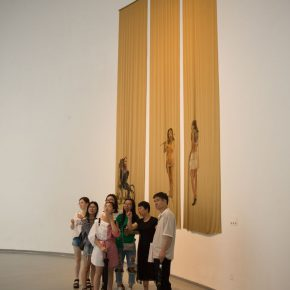 """21 Exhibition view of the """"Loom – the Contemporary Art Exhibition"""""""