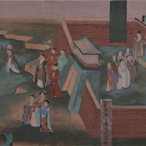 """21 Photo of the exhibited work 290x290 - """"The Dimension of Tradition – Copying and the Collection for the National Traditional Painting by CAFA in the 1950s and 1960s"""""""