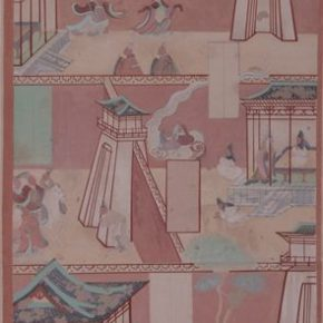 """22 Photo of the exhibited work 290x290 - """"The Dimension of Tradition – Copying and the Collection for the National Traditional Painting by CAFA in the 1950s and 1960s"""""""