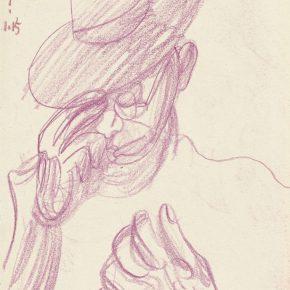 22 Zhu Zhengeng A Sketch pencil on paper 18.5 × 14 cm 2007 290x290 - Zhu Zhengeng