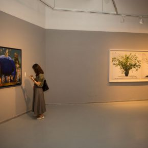 """25 Exhibition view of the """"Loom – the Contemporary Art Exhibition"""""""
